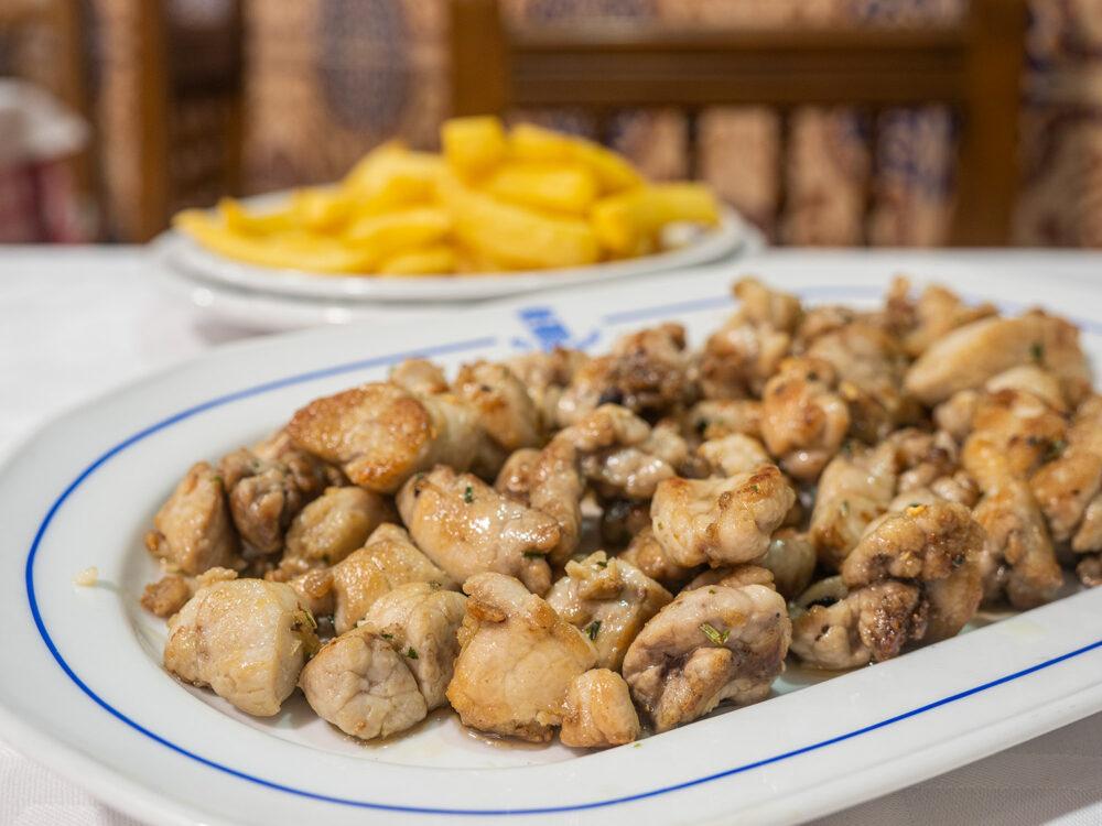 restaurante-segoviano-madrid-mesa-habla-mollejas