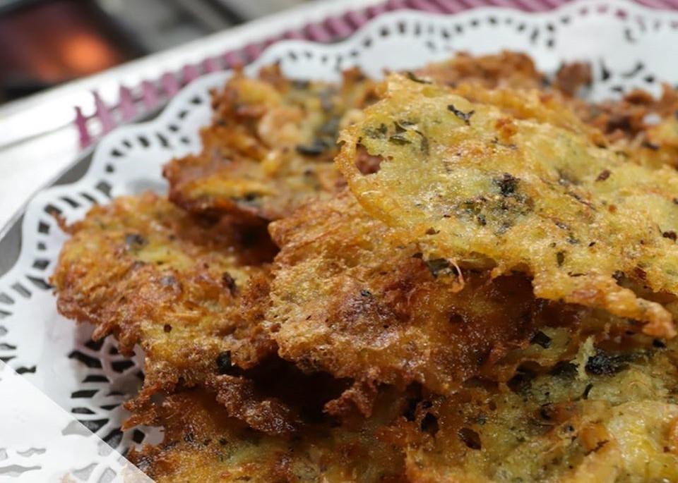 mesa-habla-meson-copo-palmones-tortillitas-camarones