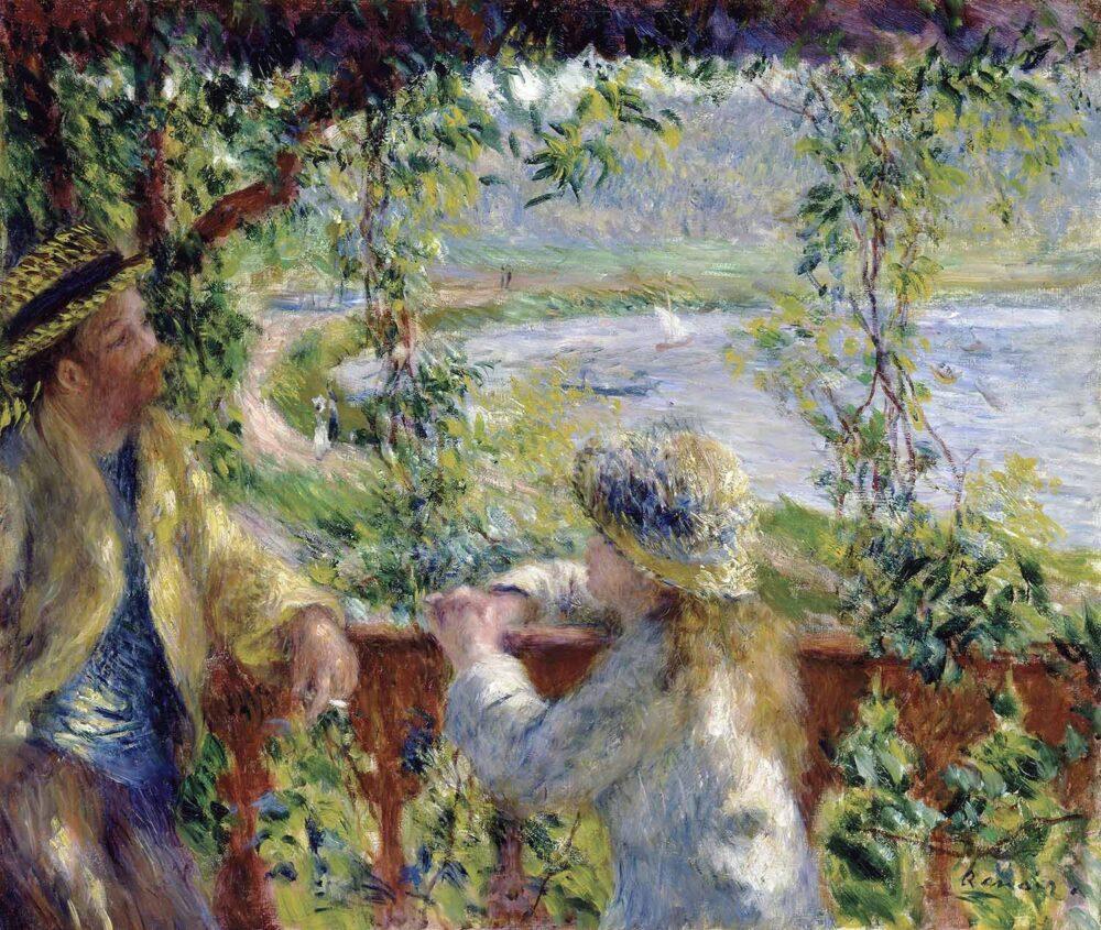 mesa-habla-orilla-lago-renoir