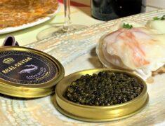 Cocina, caviar y palo cortado en el restaurante La Nena